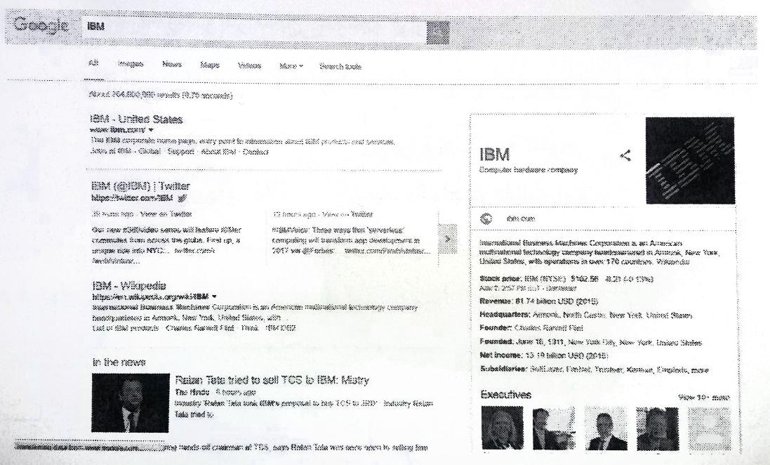 چگونگی خواندن صفحه ی نتایج توسط موتور جستجو