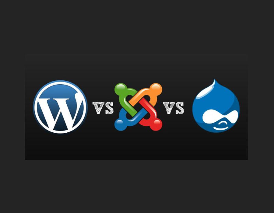 تفاوت بین طراحی سایت با وردپرس و جوملا در چیست؟