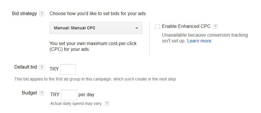 bid strategy - ادوردز گوگل