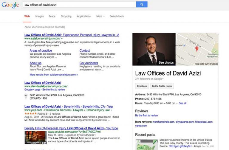 باکس-بیزینس-در-نتایج جستجو-گوگل