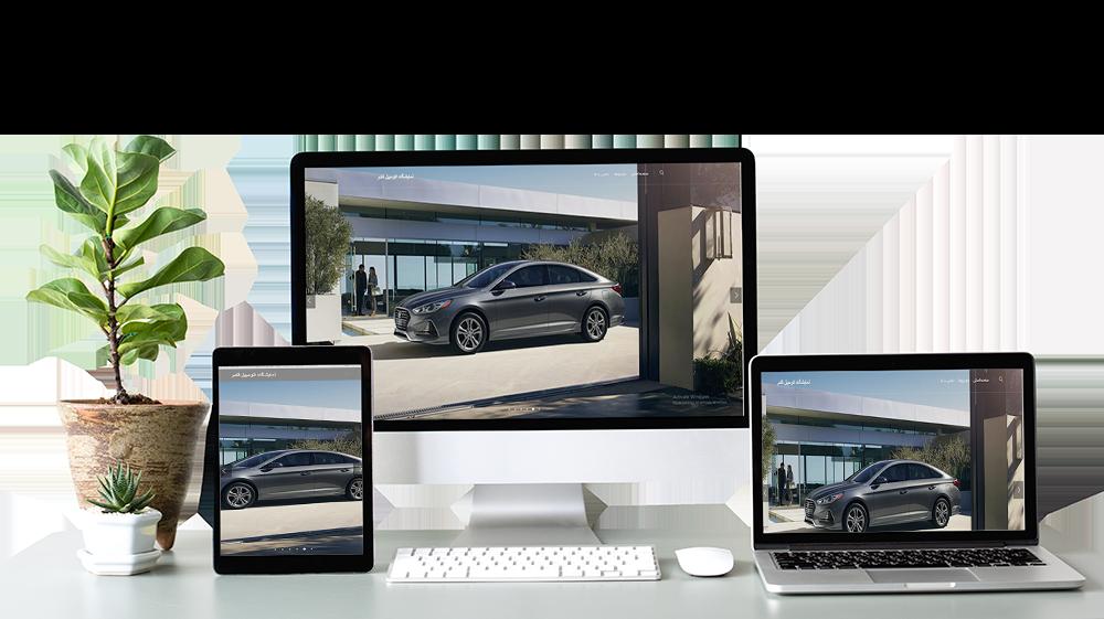 طراحی سایت نمایشگاه اتومبیل