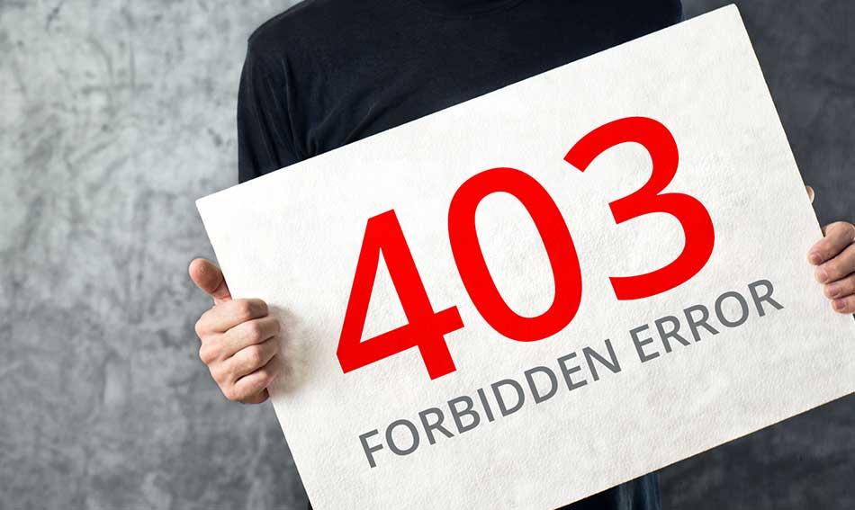 رفع-خطای-forbidden-403