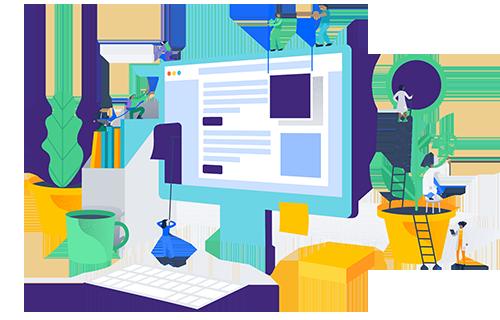 طراحی سایت شرکت خدماتی