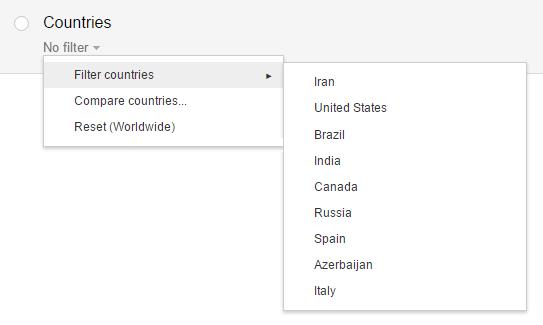 Search Traffic در گوگل سرچ کنسول