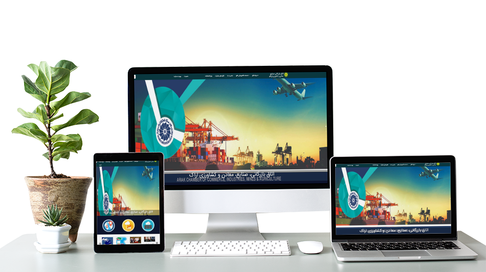 طراحی سایت تجاری خارجی
