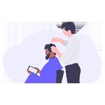 طراحی سایت آرایشگاه مردانه